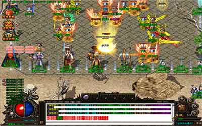摧毁级BOSS玉阳君仙剑传奇私服的玩家是如何打击杀的?