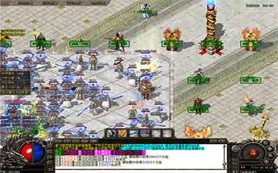 新手玩家在复古热血传奇适合打怪的3个地图位置!