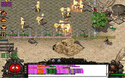 恶魔神殿是180火龙热血传奇新手玩家大宝的好地方!