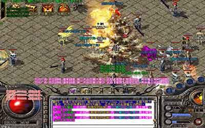 尸王殿在1.70版本以前,在极品热血传奇中是最热门的地图!