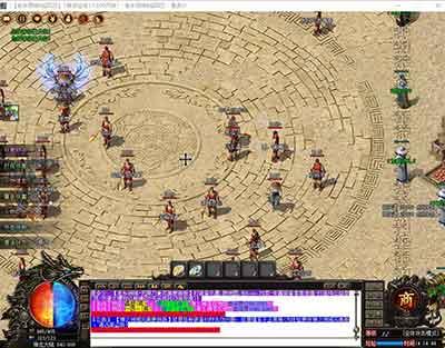 霸业传奇血流成河游戏玩法组队9V5袭来魔龙狱实际标准